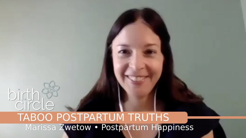 Taboo Postpartum Truths - Marissa Zwetow